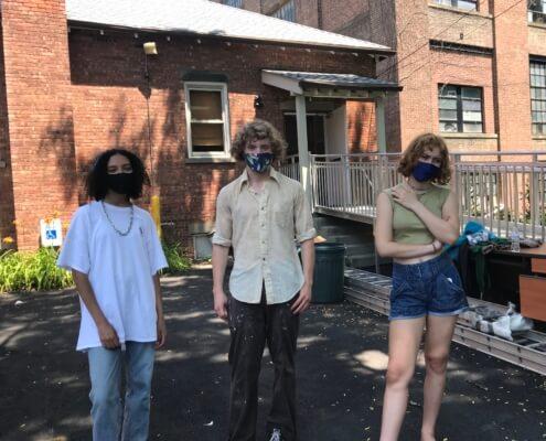 Market volunteers, summer 2020