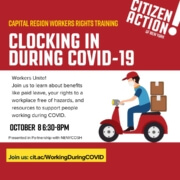 Promo for workshop, Clocking In During Covid
