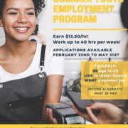 2021 Ulster Count Summer Youth Employment Program